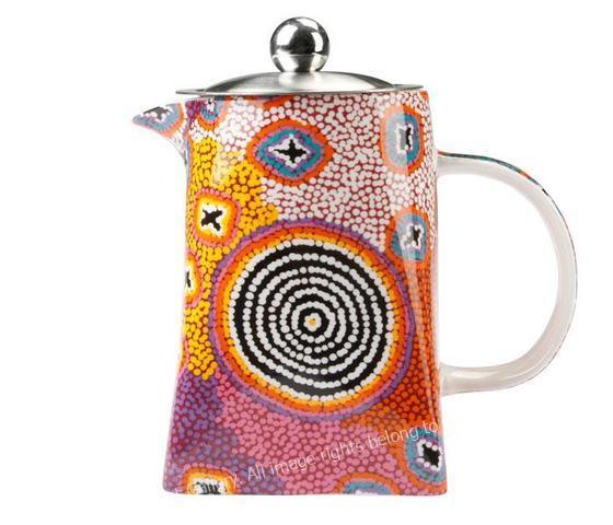 Aboriginal Art Tea Pot